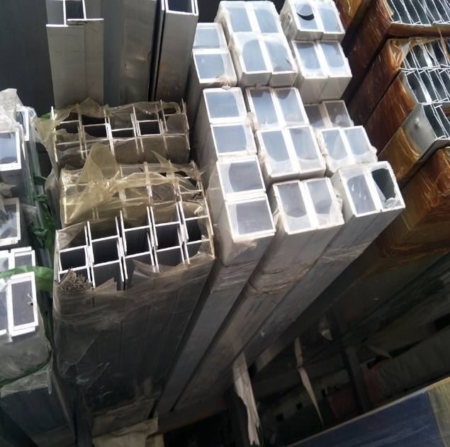 上海翔奋6061U型材槽铝直销 30*50*4 免费切割铝型材