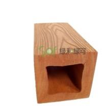 广东仿木纹立柱纳米碳化木方柱用于户外栏杆立柱高耐候不褪色不开裂100直径图片