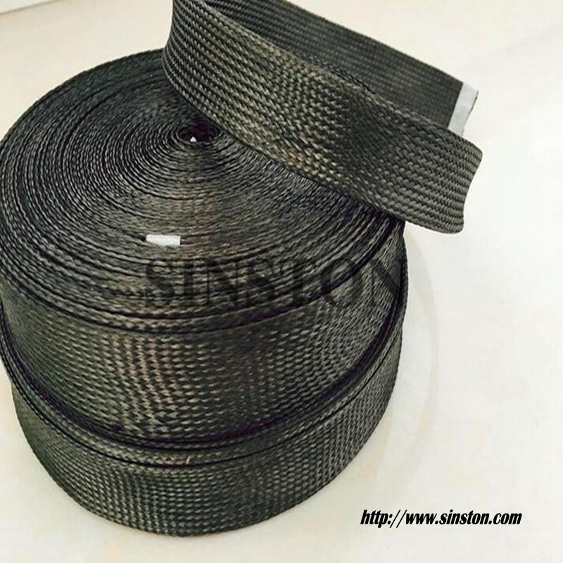 碳纤维编织套管 碳纤维管 耐高温碳纤维套管