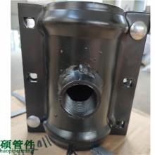现货供应哈夫节三通  丝口哈夫三通管卡DN800*400*10 PN25普通碳钢