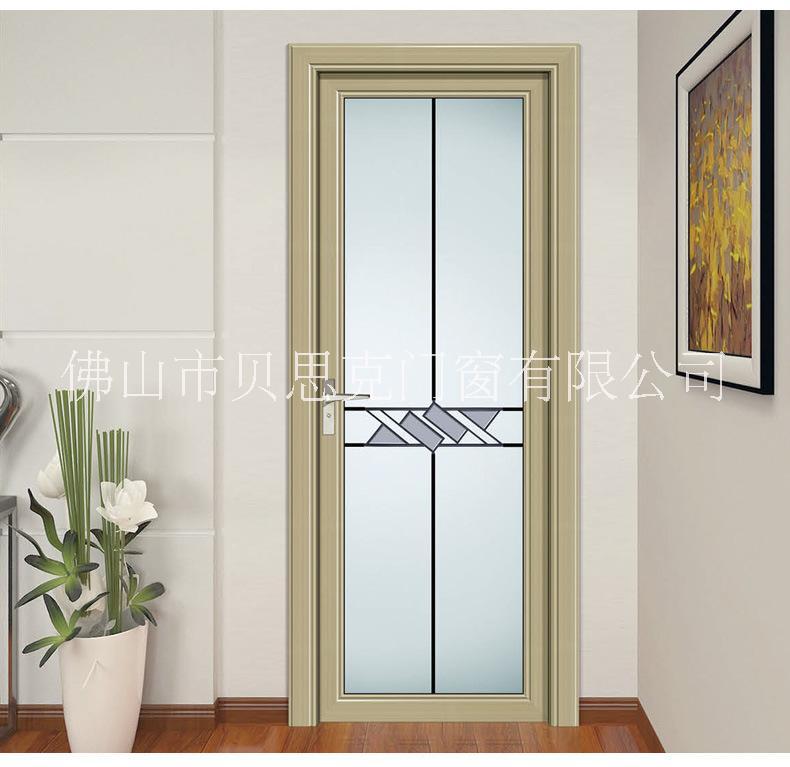贝思克门窗厂家定制  别墅室内平开门  磨砂玻璃平开门