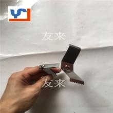 UV真空镀膜五金塑胶表面处理折弯方管不锈钢弹片弹簧自动线喷涂夹具ZS-2092批发