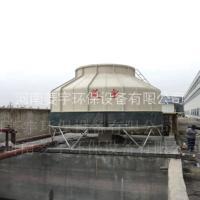 机械通风式低噪音圆形冷却塔玻璃钢逆流冷却塔风机厂家图片