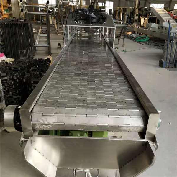 链板式输送机-不锈钢链板输送机-卓远厂家定做