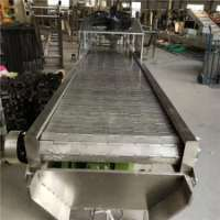 链板式输送机-不锈钢链板输送机-卓远厂家定做图片