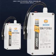 广州捷巨18650锂电零售批发定制  三元锂12V20安储能锂电池厂家图片