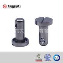 定制一字槽圆头钻孔不锈钢/碳钢铆钉, 定制一字槽圆头钻孔不锈钢铆钉图片