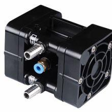 UDP2TS气动隔膜泵是一种应用相当广泛的工业用泵,小型大马力,工程塑料泵体、特氟龙隔膜片、不锈钢接头,适用于各种液体、图片