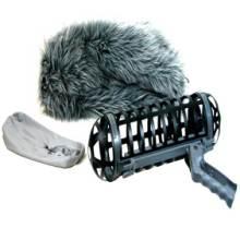 WD DESIGN Windshield Kit1 话筒防风三件套 猪笼三件套 碳纤维硬笼 手柄 毛毛套 防风三件套 挑图片