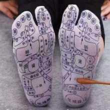外贸礼品出口亚马逊产品足底穴位袜磁疗袜子生产加工图片