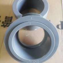 PVC补芯upvc短缩接头灰色工业级塑料化工补心补申缩接头