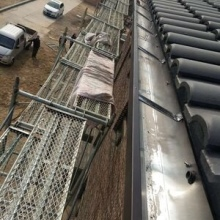 供应成都 铝合金型材天沟厂家-铝合金7K 6K 型材天沟 别墅檐沟 别墅彩铝落水系统图片