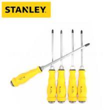 史丹利/STANLEY敲击螺丝刀61-887-23 一字螺丝刀8x300一字加力通体螺丝刀批发