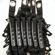 皮划艇配件把手 侧装手提 皮划艇橡皮绳橡胶手柄 手柄塑料 提手把手拎图片