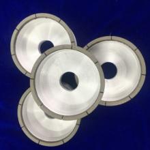 樹脂杯型開槽砂輪  河南科美廠家定制 金剛石CBN杯型砂輪 加工硬質合金磁性材料光學玻璃圖片