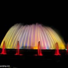 音乐灯光喷泉 大型音乐喷泉工程 景观喷泉设备 喷泉水景制作图片