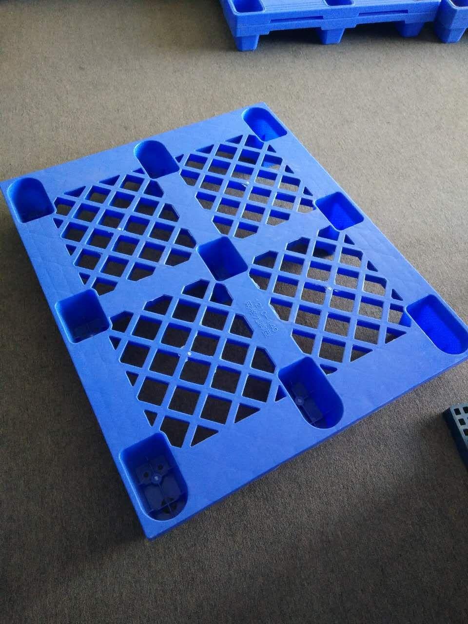 轻型九脚网格塑料栈板销售