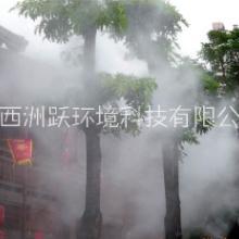民俗村文化饮食街  人工造雾设备图片