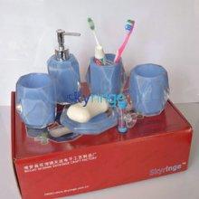 优品推荐洗漱用具 卫浴五件套装 亚克力卫浴套装 树脂工艺品图片