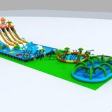 水上乐园支架水池游泳池游乐设备移动支架水池图片