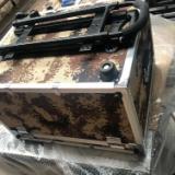 时尚潮流拉链款铝合金拉杆箱ABS旅行箱静音万向轮密码锁行李箱
