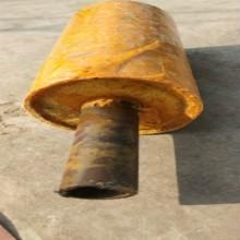 蒸汽管道保温层 钢套钢保温钢管 聚氨酯发泡密度图片