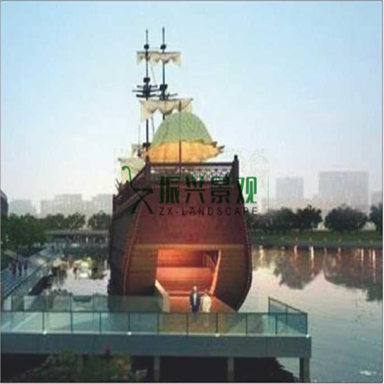 湖中造景景观船销售