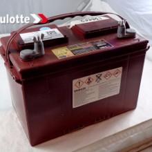 法国HAULOTTE蓄电池电动直臂式高空作业平台配套用蓄电池6V315升降平台登高车推高车配套图片